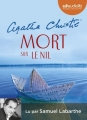Couverture Mort sur le Nil Editions Audiolib (Suspense) 2016