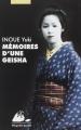 Couverture Mémoires d'une geisha Editions Philippe Picquier (Poche) 1999