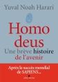 Couverture Homo deus : Une brève histoire de l'avenir Editions Albin Michel 2017