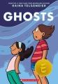 Couverture Fantômes Editions Scholastic 2016
