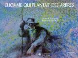 Couverture L'homme qui plantait des arbres Editions Gallimard  1989