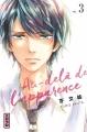 Couverture Au-delà de l'apparence, tome 3 Editions Kana (Shôjo) 2017