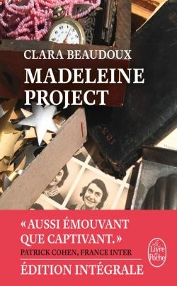Couverture Madeleine project