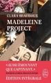 Couverture Madeleine project Editions Le Livre de Poche 2017