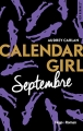 Couverture Calendar girl, tome 09 : Septembre Editions Hugo & cie (New romance) 2017