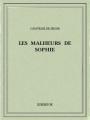 Couverture Les malheurs de Sophie Editions Bibebook 2015