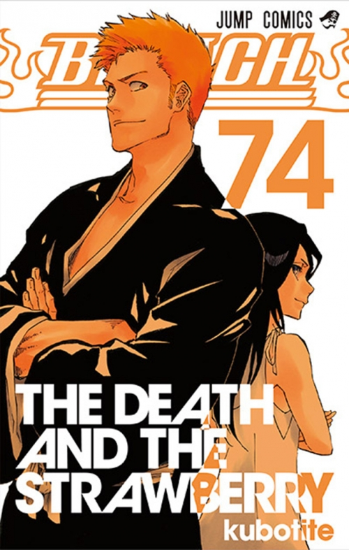 Couverture Bleach, tome 74 : The death and the strawberry