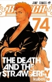 Couverture Bleach, tome 74 : The death and the strawberry Editions Glénat (Manga poche) 2017