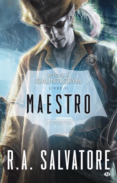 Couverture Retour à Gauntlgrym, tome 2 : Maestro