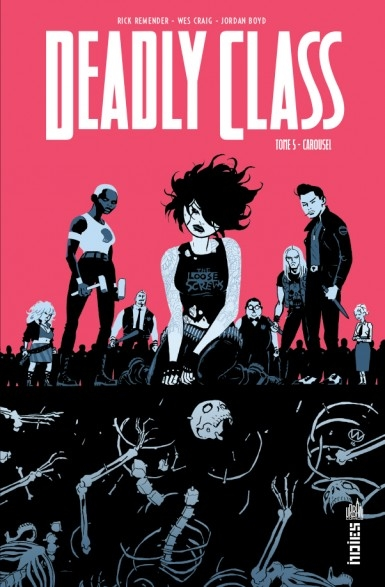 Couverture Deadly Class, tome 5 : Carousel