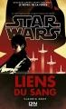 Couverture Star Wars : Liens du sang Editions 12-21 2017