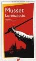 Couverture Lorenzaccio Editions Flammarion (GF) 2012