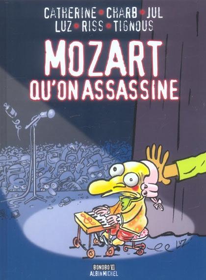 Couverture Mozart qu'on assassine