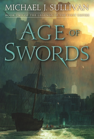 Couverture The Legends of the First Empire, book 2: Age of Swords