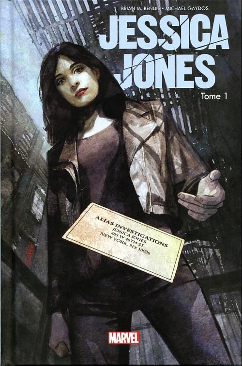 Couverture Jessica Jones, tome 1 : Sans cage