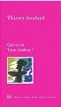 Couverture Qui es-tu Yann Andrea ? Editions des Busclats 2017