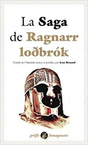 Couverture La saga de ragnar loðbrók