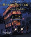 Couverture Harry Potter, illustrée, tome 3 : Harry Potter et le prisonnier d'Azkaban Editions Gallimard  2017
