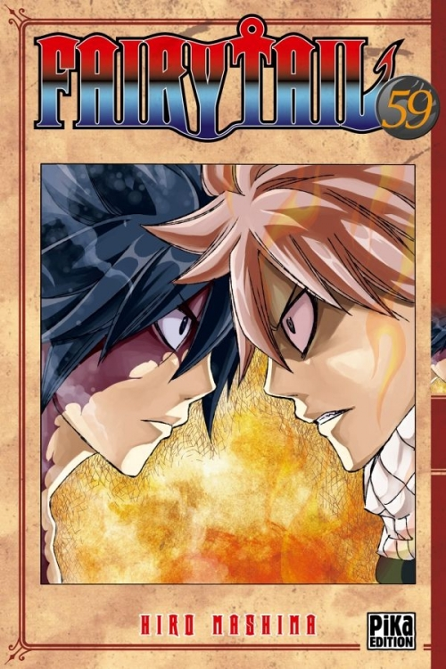 Couverture Fairy Tail, tome 59