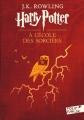 Couverture Harry Potter, tome 1 : Harry Potter à l'école des sorciers Editions Folio  (Junior) 2017
