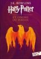 Couverture Harry Potter, tome 5 : Harry Potter et l'ordre du phénix Editions Folio  (Junior) 2017