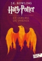 Couverture Harry Potter, tome 5 : Harry Potter et l'ordre du phénix Editions Folio  (Junior) 2017