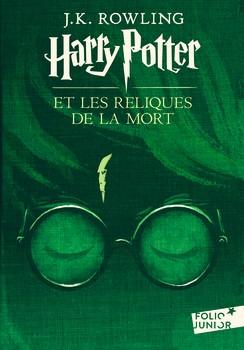 Couverture Harry Potter, tome 7 : Harry Potter et les reliques de la mort