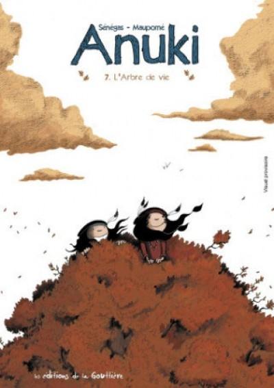 Couverture Anuki, tome 7 : L'arbre de vie