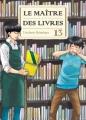 Couverture Le maître des livres, tome 13 Editions Komikku 2017