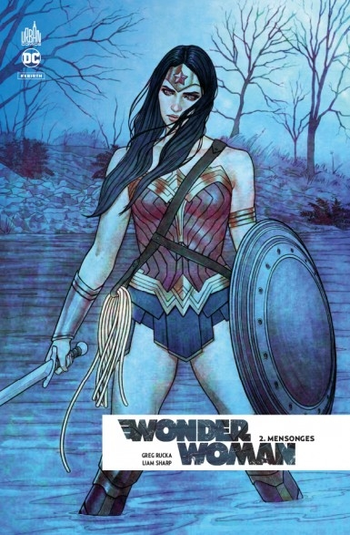 Couverture Wonder Woman Rebirth, tome 2 : Mensonges