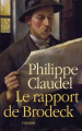 Couverture Le Rapport de Brodeck Editions France Loisirs 2007