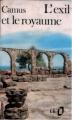 Couverture L'exil et le royaume Editions Gallimard  1980