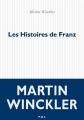 Couverture Les histoires de Franz Editions P.O.L 2017