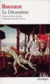 Couverture Le Décaméron Editions Folio  (Classique) 2016