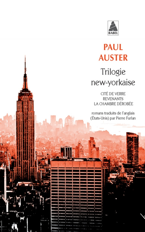 Couverture Trilogie new-yorkaise