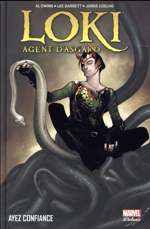 Couverture Loki : Agent d'Asgard, tome 1 : Ayez confiance