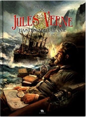 Couverture Jules Verne et l'astrolabe d'Uranie, tome 1