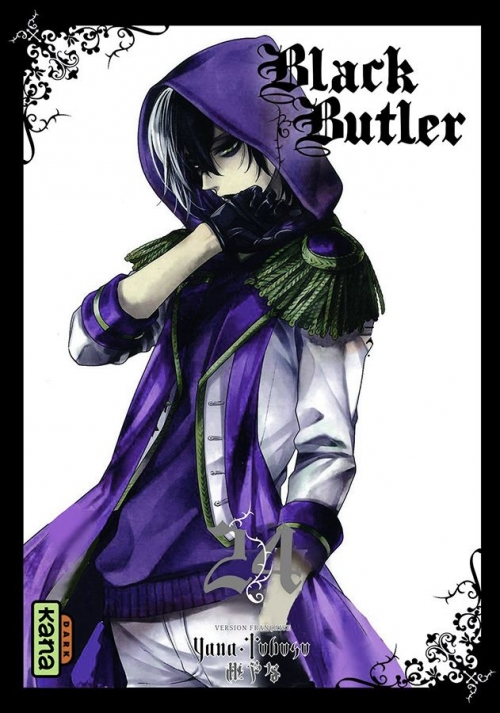 Couverture Black Butler, tome 24