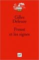Couverture Proust et les signes Editions Presses universitaires de France (PUF) (Quadrige - Grands textes) 2010