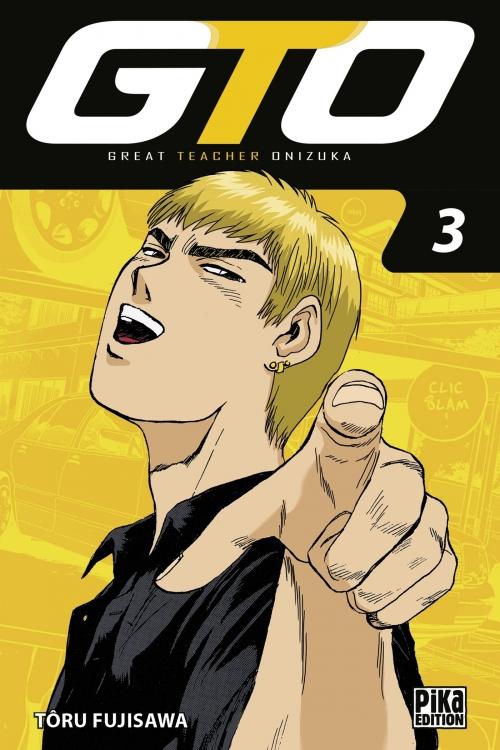 Couverture GTO, tome 03