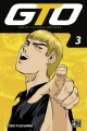 Couverture GTO, tome 03 Editions Pika (Shônen) 2017