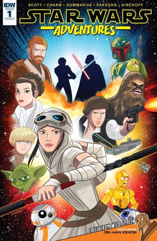 Couverture Star Wars Adventures (comics), book 1