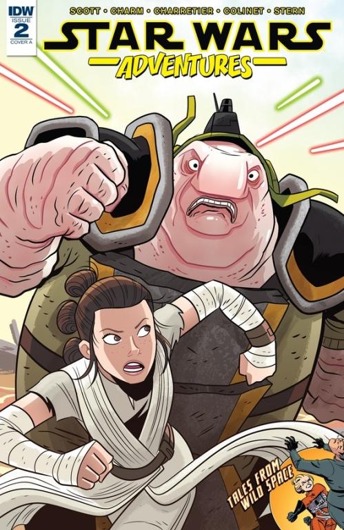 Couverture Star Wars Adventures (comics), book 2