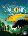 Couverture L'héritier des Draconis, tome 2 : La sculptrice de dragons Editions Gulf Stream 2017