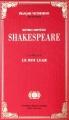 Couverture Le Roi Lear Editions Le Monde 2015