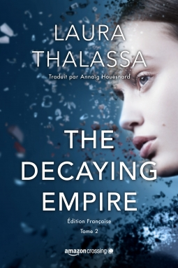 Couverture The vanishing girl, tome 2 : The decaying empire