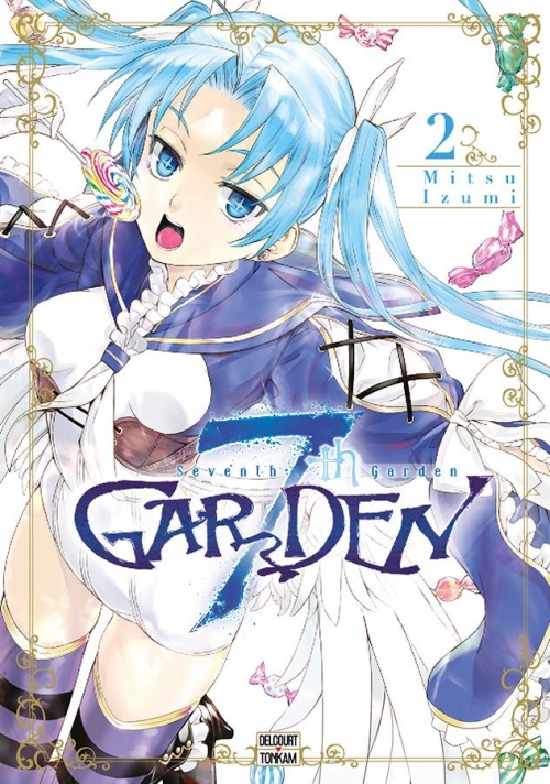 Couverture 7th Garden, tome 2