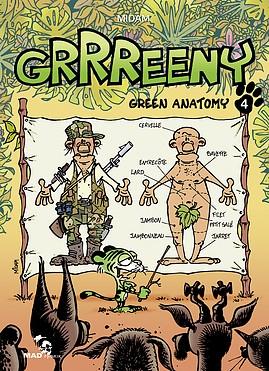 Couverture Grrreeny : Green anatomy