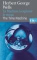 Couverture La machine à explorer le temps Editions Folio  (Bilingue) 2012