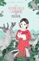 Couverture La jeune fille au visage de pierre Editions Actes Sud (Junior) 2016